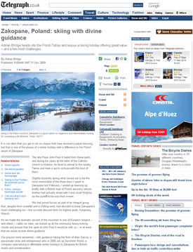 telegraph_zakopane_article